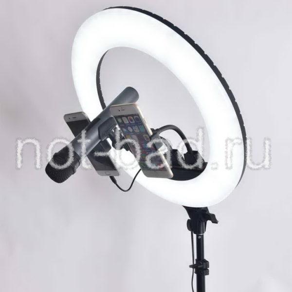 Кольцевая лампа светодиодная 45 см с сумкой